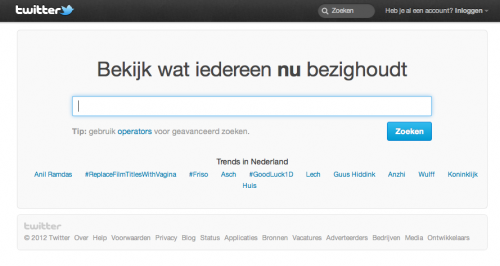 Friso is Trending Topic op Twitter in Nederland 17:00u
