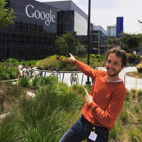 Rondgeleid door Google hoofdkantoor, mijn indruk