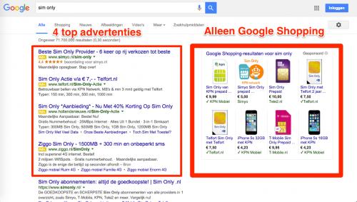 3 redenen waarom Google advertenties rechterkolom verwijdert
