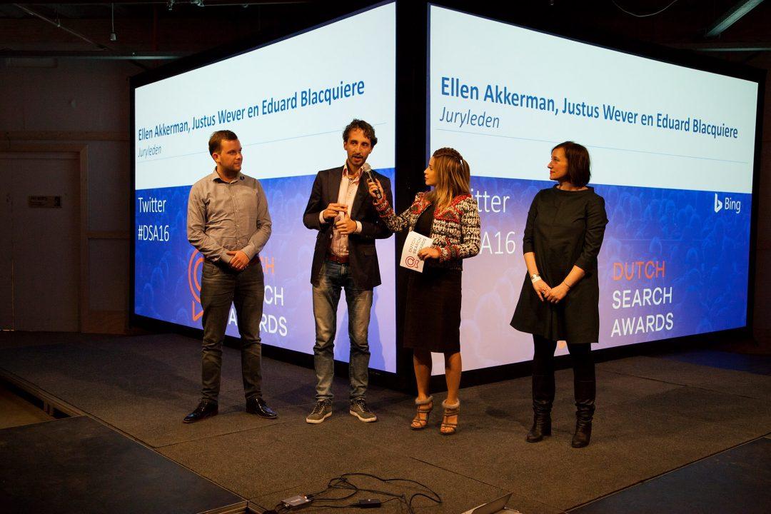 Jurylid eerste Dutch Search Awards
