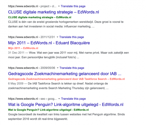 bookmarklet title check in SERP